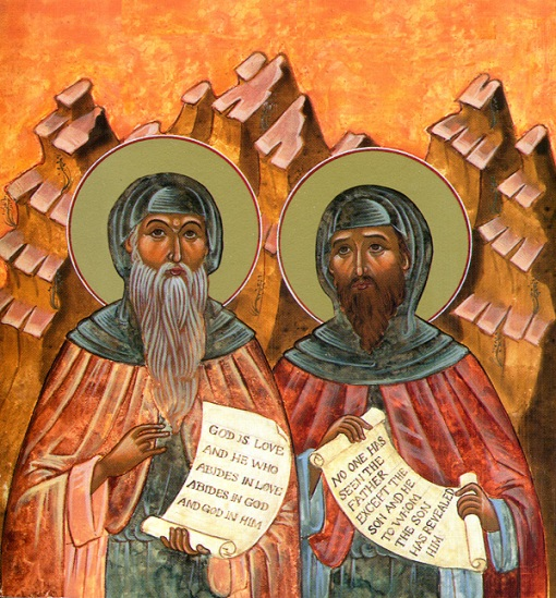 Saints Barsanuphius the Great & John the Prophet